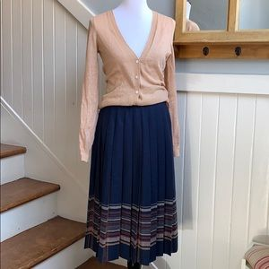 Pendleton Pleated Wool Skirt